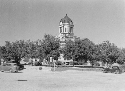 Fisher County Courthouse, Roby, Texas.