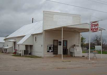 Strawn Market, Strawn Texas store, closed