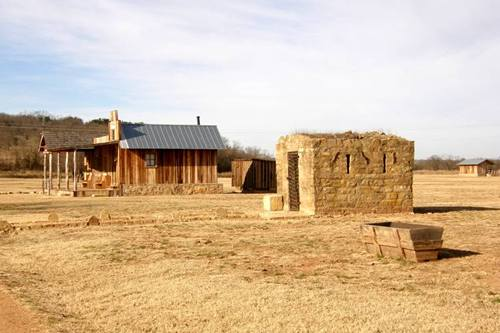Fort Griffin Saloon and Jail