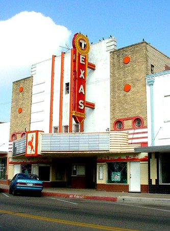 Texas Theatre,  Raymondville, Texas