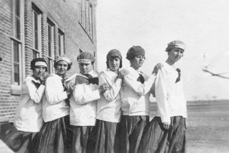Fluvanna TX School girls 1917